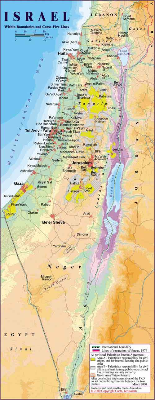 Israel deep inside the plucky country click here for a modern map gumiabroncs Image collections