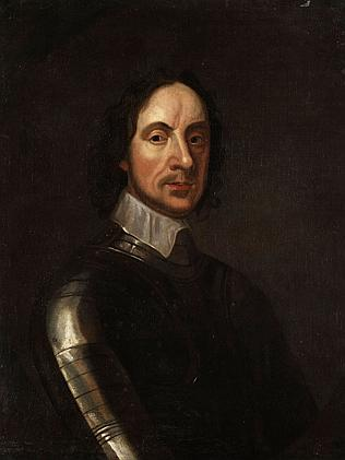 English military and political leader Oliver Cromwell in a 17th Century portrait.